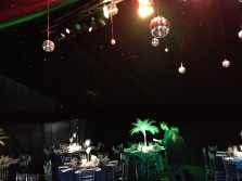 The Great Event Company, Marquee, Amazing Marquee, Marquee hire Suffolk, Marquee for my party, Decorative marquee, Black Marquee, Wow Marquee, Wedding Marquee, Glitter Balls in Marquee