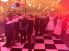 Band at a wedding, The Zoots, The Zoots wedding band, Wedding band Wiltshire, Wedding band Berkshire, Wedding band South West, Band in South West, Band for hire, Function band in Wiltshire, Band in Oxford, Wedding reception, People Dancing, Live Band
