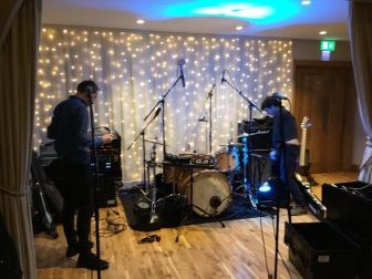 Soundcheck, Bassmead Manor Barns, Bassmead, Barn Interior, Picturesque, Wedding inspiration, Wedding Venue, Wedding venue Cambridgeshire, Barn wedding, Barn wedding venue, The Zoots,