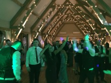 Dancing at BAssmeads barn, Bassmead Manor Barn, Wedding Venue, Barn Wedding, Sian and Kevin, The Zoots, Wedding Decor, Wedding inspiration, Band for my Wedding, Band for Hire, Winter Wedding,