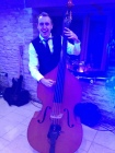 double bass wedding gloucestershire, double bass wedding band